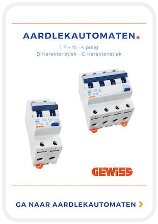 Gewiss Automaten. Ook onze aardlekautomaat ook wel alamat is net als de andere categorieen onderverdeeld in subcategorieen. Op deze manier zorgen wij ervoor dat je makkelijk jouw product kunt vinden. Dit gaat op basis van 2 polige of 4 polige aardlekautomaat. de aardlekautomaten (Alamat) hebben ook een afschakelvermogen (b of c karakteristiek) ALAMAT Een van de subcategorieen is ook wel: Aardlekautomaat + 2 polig + B Karakteristiek of Aardlekautomaat 4 polig C Karakteristiek of 2 Polige aarlekautomaat C-Karakteristiek of 4 polige aardlek automaat B karakteristiek. Een ander woord voor aardlekautomaat is ook wel ALAMAT (Dit is de afkorting van AardLekAutoMAaT.