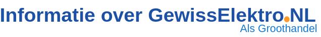 Informatie over GewissElektro.nl