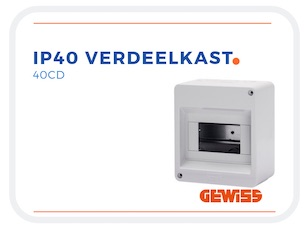 IP40_Verdeelkast_Lege_Groepenkast