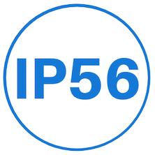 IP56 Beveiligingsgraad voor verdeelinrichtingen