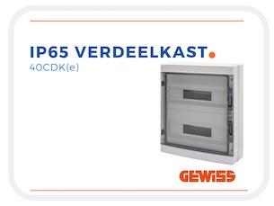 IP65 Groepenkast Leeg