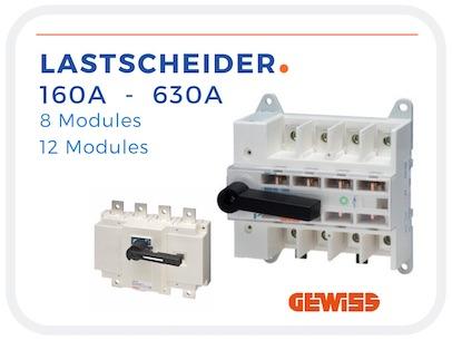 Gewiss Lastscheider MSS 160 - 630